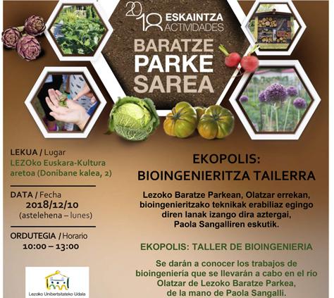 Bioingeniritza tailerra